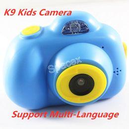 $enCountryForm.capitalKeyWord Australia - K9 Kids Camera Mini Digital Kids 2 Inch Hd Screen Anti-Shake Camcorder Children Gifts Best Birthday Gift With Support Multi-Language