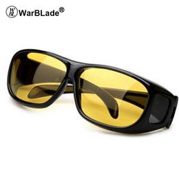 Hd Vision Glasses Australia - 2018 High Quality Driving HD Night Vision Yellow Lens Sunglasses Driver Safety Sun glasses Goggles type glass Brand New