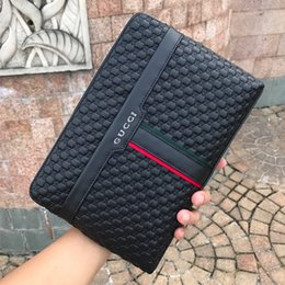Wholesale Brand Business Men Wallet Cowhide Man Clutch Bag Coins Pocket Purse Casual Envelope Long Wallets Male Handy Bag size cm