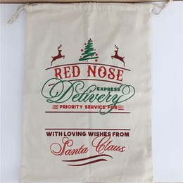 $enCountryForm.capitalKeyWord Australia - Christmas Santa Sacks Large Organic Newest Santa Claus Bags Canvas Candy Hot Sale Bag Christmas Gift Bag 08