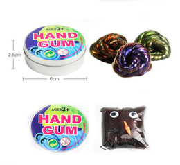 magnet putty Australia - Handgum Heat Sensitive Magnetic Rubber Mud Hand Gum Silly Putty Magnet Clay Plasticine Temperature Change Turns Color light Mud TC181211W