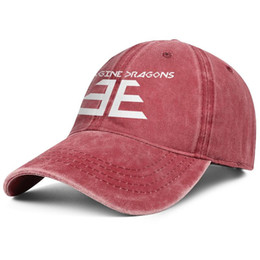 $enCountryForm.capitalKeyWord UK - Imagine Dragons Pixel Art logo red denim hat mens and women denim cap trucker cap baseball cool fitted vintage hats