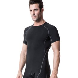 $enCountryForm.capitalKeyWord Australia - Men T-shirts Jerseys Pro Fitness Compression Base Layers Under Tops Skins Gear Wear Tees Tops Wear
