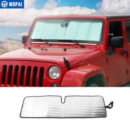 Exterior Accessories Mopai Black Red Car Top Roof Storage Hammock Bed Rest Network Cover For Jeep Wrangler Tj Jk Jl 1997-2018 Car Accessories
