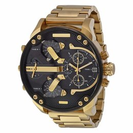 Wholesale Sports Mens Watches Big Dial Display Top Luxury watch Quartz Watch Steel Band Fashion Wristwatches For Men