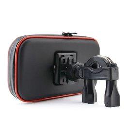 Motosiklet Telefon Desteği Cep Moto Bisiklet Iphone Akıllı Telefonlar Için Bisiklet Tutucu Su Geçirmez Çanta Standı Gps J190507