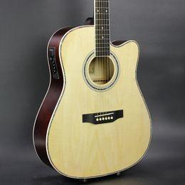 453b4f2c882 41 inch guitar online shopping - 41 inch ballad acoustic EQ rosewood  fingerboard guitar custom service