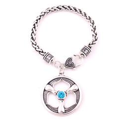 $enCountryForm.capitalKeyWord UK - Rhiannon Three Birds Charm Welsh Goddess Birds Crystal Religious Amulet Wheat Chain Bracelet