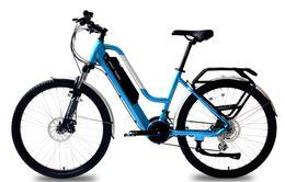 Inch Flat Panel Australia - FANTRIDER Brand new Torque sensing electric power sports bicycle Intelligent LCD panel Aluminum alloy frame 3*9 speed24