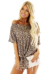 $enCountryForm.capitalKeyWord Australia - Women Fashion Leopard T Shirts New Arrival Women Summer Casual Printed T Shirts Streetwear Womens Tees Size S-2XL