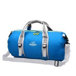 $enCountryForm.capitalKeyWord UK - Top 2019 Nylon Outdoor Sports Gym Bag Multifunction Training Fitness Shoulder Bag With Shoes Pocket Travel Luggage Yoga Handbags Duffle Bag