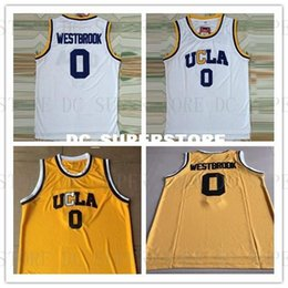 Ucla Jersey Australia - Cheap custom Westbrook  0 UCLA Bruins Stitched  Basketball Jersey White Stitch 68894d777