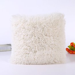 $enCountryForm.capitalKeyWord Australia - Solid Soft Plush Faux Fur Wholesale Decorative Cushion Cover Throw Pillows For Home Sofa Car Chair Hotel Home Decoration#20