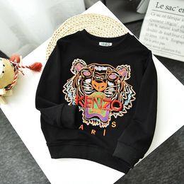 Wholesale Children Designer Sweatshirts Brand Hoodie Boys Girls Luxury Letters Embroidery with Pattern Sweatshirts Tops Child Designer Hoodies