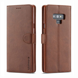 $enCountryForm.capitalKeyWord Australia - Phone Cases For Samsung Galaxy Note 9 8 Case Cover Luxury Magnetic Flip Vintage Wallet Leather Bag For Samsung Noet9 Noet8 Coque