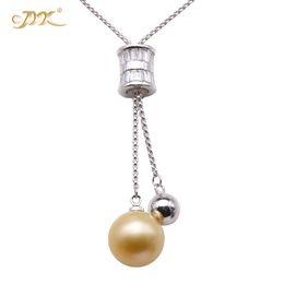 genuine south sea pearl pendant 2019 - JYX Adavanced jewelry Pearl Pendant AAA Quality Genuine 14.5mm Golden South Sea Cultured Pearl Pendant Necklace for Wome