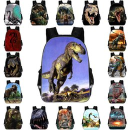 dinosaur children bag Australia - Zipper Monster Dinosaur Bag Model Pencil Package Dinosaur Pattern Student Toys Gift For Children School Bags Large Capacity Backpack M26Y