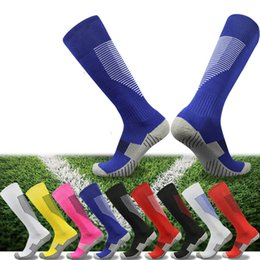 child shaped towels Australia - Adult Children Football Socks Breathable Thickening Towel Bottom Shaping Anti-skid Training Stockings For Baseball Basketball Riding Outdoor