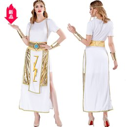 women sexy fairy costume Australia - Cosplay Sexy Greece Goddess Clothing Halloween Egypt Gorgeous After Cosplay Stage Game Uniform