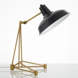 $enCountryForm.capitalKeyWord Australia - Postmodern personality creative metal table lamp model room villa children's room table lamp American simple bedside lamp