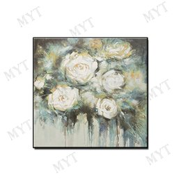 Decor Abstract Australia - POP Artwork modern oil painting abstract wall art home decor Hand-painted beautiful flowers landscape on canvas for living room no framed