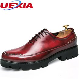 $enCountryForm.capitalKeyWord NZ - Increased Formal Shoes Men Directory Leather Dress Shoes Mens Flats Rivets Business Casual Classic Gentleman Polyurethane Oxford