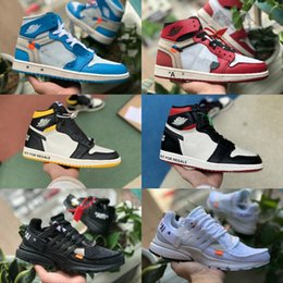 wholesale dealer 8d020 169bd Nike Air Jordan 1 white Shoes 2019 off New Retro Jordans 1 OG Prohibido  Bredo Top 1 Hombres Negro 1s No para revender Zapatillas NUC Zapatillas  Mujer Rojo ...
