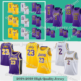 Men s LeBron 23 james jersey Los Angeles Basketball Jerseys Lonzo 2 Ball  Kyle 0 Kuzma Kobe 24 Bryant 2019 New Stitched Jerseys 3e745e925
