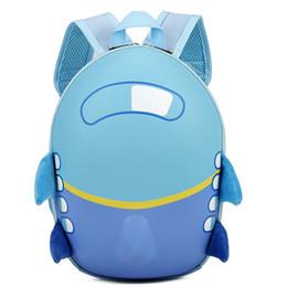 $enCountryForm.capitalKeyWord Canada - Baby Girls Boys Kids Cute Airplane Cartoon Eggshell Backpack Toddler School Bag 40#