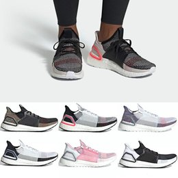 Cheap Wrestling Boots NZ - 2019 Ultra Boost 19 Men Women Running Shoes Ultraboost 5.0 Laser Red Dark Pixel Core Black Cheap Trainer Sport Sneaker Size 36-47