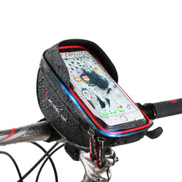 $enCountryForm.capitalKeyWord NZ - Bicycle Mountain Bike Front Beam Water Repellent Touch Screen Mobile Phone Storage Bag Bicycle Accessories