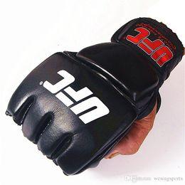 Ufc gloves online shopping - Profectional MMA Gloves Sparring Punch Ultimate Mitts Sanda Fighting Training Sandbag Equipment UFC GLOVES