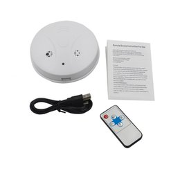 $enCountryForm.capitalKeyWord NZ - Smoke Detector Pinhole camera DVR with Remote control Motion Detection 30fps 2.0MP mini camcorder video recorder Cam white free shipping