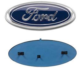 """Vente en gros 2004-2014 Ford F150 Grille avant Hayon emblème, ovale 9 """"X3.5"""", Badge Decal Nameplate Convient également pour F250 F350 bord Explorateur Ranger"""