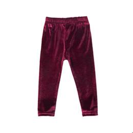 $enCountryForm.capitalKeyWord UK - 2017 Casual Fashion Newborn Baby Girls Bell Bottom Pleuche Pants Kids Long Flare Trousers