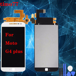 Wholesale moto g4 plus for sale - Group buy Super quality Original For Motorola Moto G4 plus LCD Screen With Touch screen Digitizer Assembly Display Screen replacement for Moto G4 plus