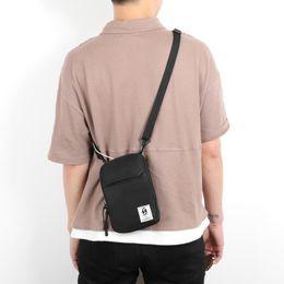 $enCountryForm.capitalKeyWord NZ - Men Mini Square Shoulder Bag Tote Hip Hop Fashion Mobile Phone Casual Crossbody Messenger Bags Pouch Travel Wallet Small Handbag