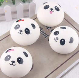Stress Relief Gadgets NZ - New Style Squishy Slow Rising Lovely Panda Emotion Bread Toy Stress Relief Toys Squeeze Funny Gadget Kids Gift