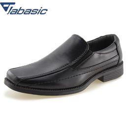 88477befae4 JABASIC Kids School Uniform Dress Shoes Slip-on Oxford Loafers Soft PU  Leather Casual Shoes Boys Loafers Boys Child