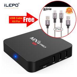 Chinese  MXQ Pro Smart Android 7 .1 TV Box S905W Quad Core 1g 8g IPTV Box Wifi HD 4K Media Player PK X96 mini manufacturers