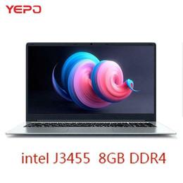 Ingrosso Computer portatile YEPO da 15.6 pollici 8 GB di RAM DDR4 da 256 GB / 512 GB SSD da 1 TB HDD intel J345