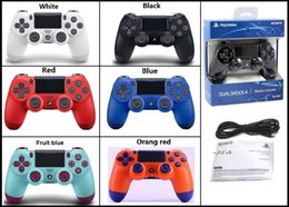 ps4 game consoles Australia - HOT Best PS4 Wireless Controller For PlayStation 4 PS4 System Game Console Gaming Controllers Games Joystick with Retail package