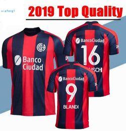 100% authentic d1c58 87ac7 2019 San Lorenzo jersey BLANDI 9  BELLUSCHI 16 home away 19 20 Argentina  San Lorenzo CAUTERUCCIO Football Shirt From Sport jerseys