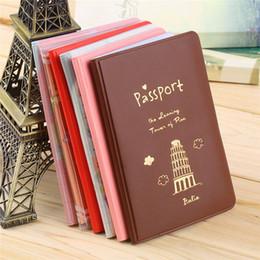 $enCountryForm.capitalKeyWord Australia - 6 Colors Travel Passport Holder Document Card Passport Case Cover Passport Holder Protect Cover Worldwide Sale