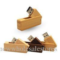 wooden usb flash 8gb UK - UK0001 Wooden USB Flash Drive pen drive 4GB 8GB 16GB 32GB 64GB customized usb flash stick pendrive memory stick flash card disk