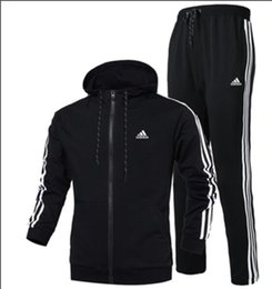 Mens designer tracksuits online shopping - Autumn Tracksuits For Men Brand Designer Coats Tops Pants Suits Logo Fashion Cardigan Men Hoodies Sweatshirts Zipped Mens Clothing