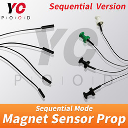 escape game props Canada - Magnet Sensors in Sequence Escape Room Puzzle Game Prop Touch Magnet sensors at the same time to unlock Takagism game YOPOOD