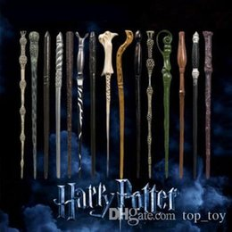 $enCountryForm.capitalKeyWord Australia - 41 Styles Harry Potter Wand Magic Props Hogwarts Harry Potter Series Magic Wand Harry Potter Magical Wand With Gift Box CCA9102 100pcs