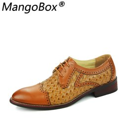 $enCountryForm.capitalKeyWord Australia - New Business Mens Casual Shoes Handmade Breathable Comfortable Top Quality Brand Men Shoes Leather Flat Men Oxfords Formal