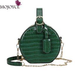 Stylish Ladies Handbags Australia - Round Messenger Chain Bags For Women 2019 Ladies Stylish Pu Leather Shoulder Handbags Girls Solid Casual Shopping Crossbody Bag Y19052701